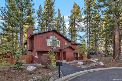 South Lake Tahoe CA Single Family Home For Sale: $659,000