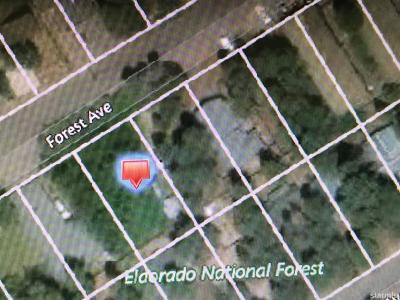South Lake Tahoe Residential Lots & Land For Sale: 3732 Forest Avenue