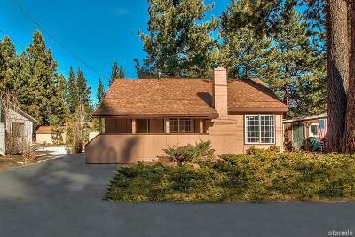South Lake Tahoe Single Family Home For Sale: 941 Brockway Avenue