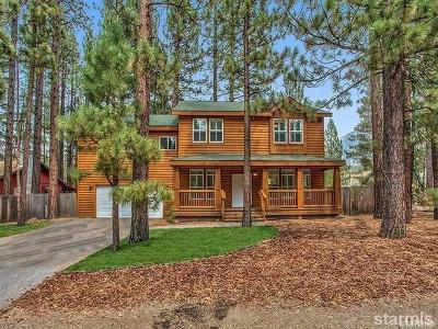 South Lake Tahoe Single Family Home For Sale: 1291 Heather Lake Road