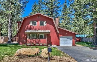 South Lake Tahoe Single Family Home For Sale: 2812 Santa Claus Drive