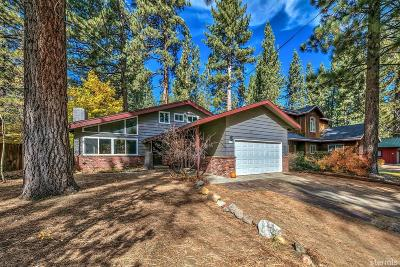 South Lake Tahoe CA Single Family Home For Sale: $539,000