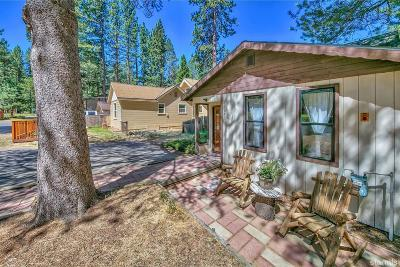 South Lake Tahoe CA Single Family Home For Sale: $359,000