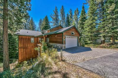 South Lake Tahoe CA Single Family Home For Sale: $825,000