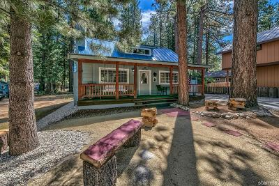 South Lake Tahoe CA Single Family Home For Sale: $383,300