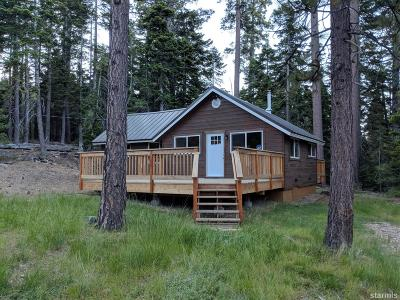 South Lake Tahoe CA Single Family Home For Sale: $1,500,000