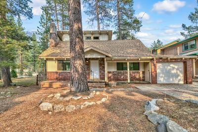 South Lake Tahoe CA Single Family Home For Sale: $449,000