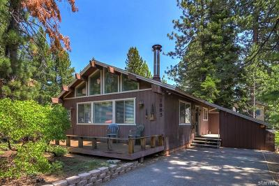 South Lake Tahoe CA Single Family Home For Sale: $379,000