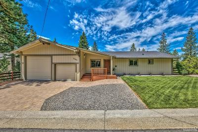 South Lake Tahoe CA Single Family Home For Sale: $779,000
