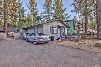 South Lake Tahoe Multi Family Home Active Pending: 2488 Palmira Avenue