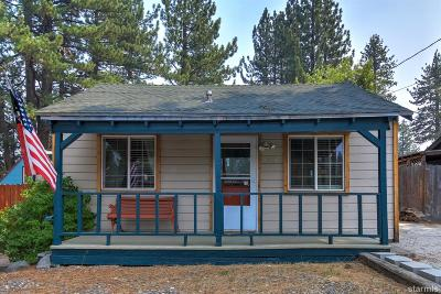 South Lake Tahoe CA Single Family Home For Sale: $419,900