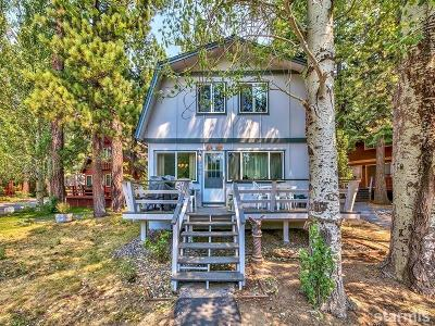 South Lake Tahoe CA Single Family Home For Sale: $365,000