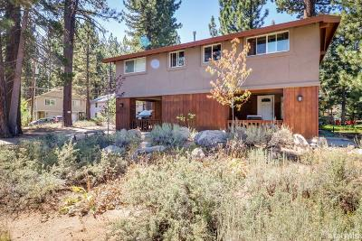 South Lake Tahoe CA Single Family Home For Sale: $449,900