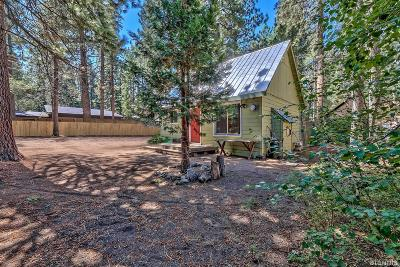 South Lake Tahoe CA Single Family Home For Sale: $315,000