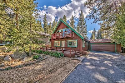 South Lake Tahoe Single Family Home For Sale: 1584 Plateau Circle