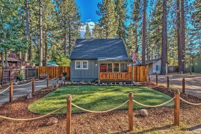 South Lake Tahoe Single Family Home For Sale: 3314 Cape Horn Road