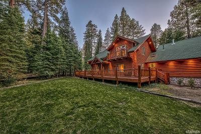 South Lake Tahoe CA Single Family Home For Sale: $899,000