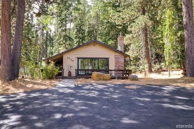 South Lake Tahoe CA Single Family Home For Sale: $485,000