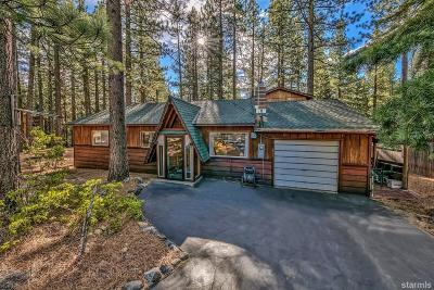 South Lake Tahoe CA Single Family Home For Sale: $434,000