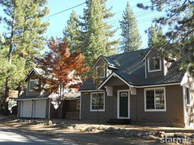 South Lake Tahoe CA Single Family Home For Sale: $569,000