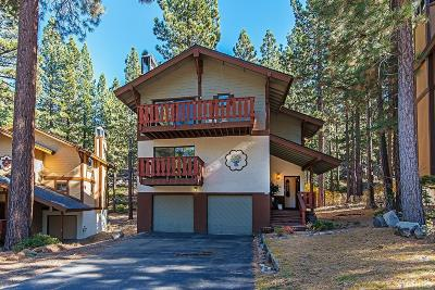 South Lake Tahoe Single Family Home For Sale: 3380 Pine Hill Road
