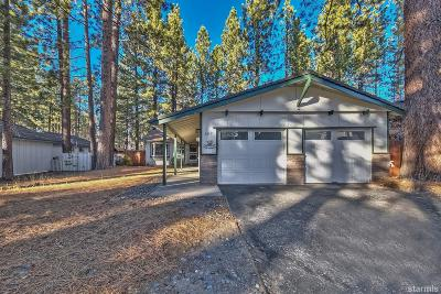 South Lake Tahoe CA Single Family Home For Sale: $469,000