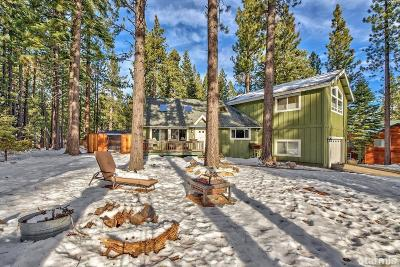 South Lake Tahoe Single Family Home For Sale: 781 Tehama Drive