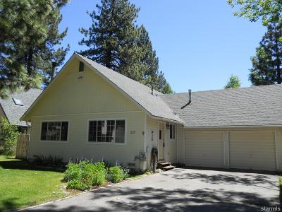 South Lake Tahoe Single Family Home For Sale: 927 Tanglewood Drive