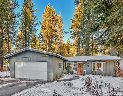South Lake Tahoe CA Single Family Home For Sale: $459,000