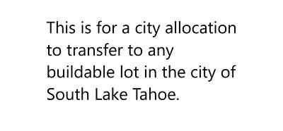 South Lake Tahoe Residential Lots & Land For Sale: 3724 Osgood Avenue