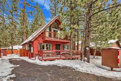 South Lake Tahoe CA Single Family Home For Sale: $495,000