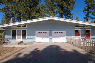 South Lake Tahoe Multi Family Home Active Pending: 2459 Ponderosa Street #1-2