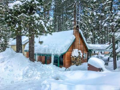South Lake Tahoe CA Single Family Home For Sale: $375,000