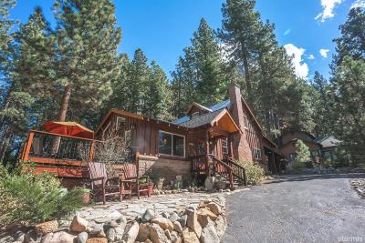 South Lake Tahoe Single Family Home For Sale: 3588 Mackedie Way