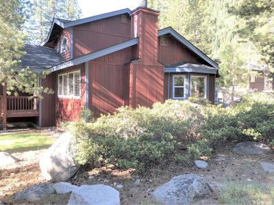 South Lake Tahoe Single Family Home For Sale: 3352 Panorama Drive