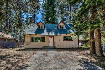 South Lake Tahoe Single Family Home For Sale: 920 Clement Street