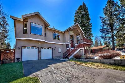 South Lake Tahoe Single Family Home For Sale: 1667 Bakersfield Street