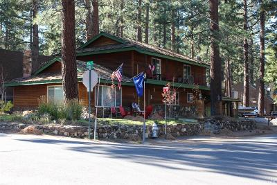 South Lake Tahoe Single Family Home For Sale: 806 Clement Street #A&B