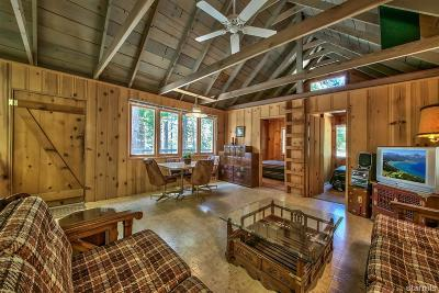 South Lake Tahoe Single Family Home For Sale: 952 Emigrant Road