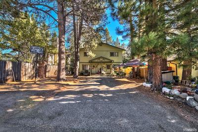 South Lake Tahoe Multi Family Home For Sale: 1031 Sierra Boulevard