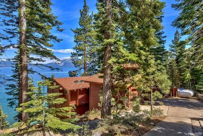 South Lake Tahoe Single Family Home For Sale: 2147 Cascade Road