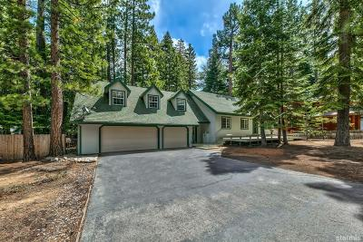 South Lake Tahoe Single Family Home For Sale: 1271 Margaret Avenue