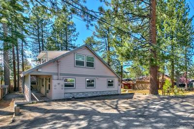 South Lake Tahoe Multi Family Home For Sale: 4085 Manzanita Avenue #1-4
