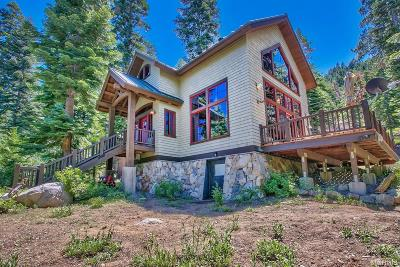 South Lake Tahoe Single Family Home For Sale: 756 Price Lane