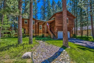 South Lake Tahoe Single Family Home For Sale: 1355 Angora Lake Road