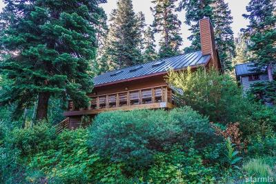 South Lake Tahoe Single Family Home For Sale: 758 Price Lane