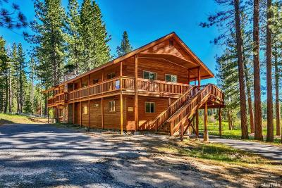 South Lake Tahoe Single Family Home For Sale: 3425 Pioneer Trail