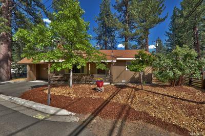 South Lake Tahoe Single Family Home For Sale: 2674 Rose Avenue