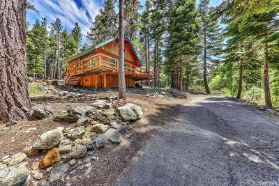 South Lake Tahoe Single Family Home For Sale: 1910 Spring Creek Road #7