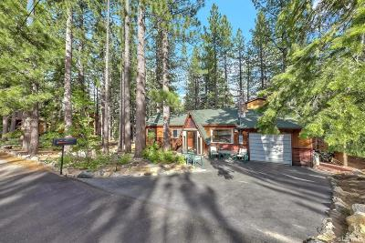 South Lake Tahoe Single Family Home For Sale: 760 Tehama Drive